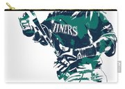 Nelson Cruz Seattle Mariners Pixel Art 5 Carry-all Pouch