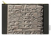 Neo-babylonian Clay Tablet Carry-all Pouch