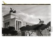 Neoclassical Architecture In Rome Carry-all Pouch by Stefano Senise