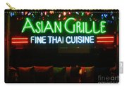 Neon Asian Grille Carry-all Pouch