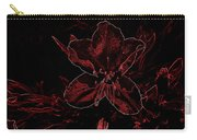Neon Bloom Carry-all Pouch