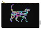 Neon Cat Cool Carry-all Pouch