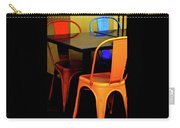 Neon Chairs 1 Carry-all Pouch