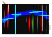 New Orleans Neon Christmas Frequency Abstract 1  Carry-all Pouch