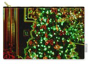 Neon Christmas Tree Carry-all Pouch