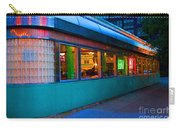 Neon Diner Carry-all Pouch by Crystal Nederman