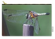 Neon Dragonfly Carry-all Pouch