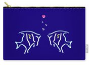 Neon Fish Love Carry-all Pouch