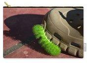 Neon Geen Caterpillar Loves Crocs Carry-all Pouch