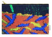 Neon Glow Mosaic Carry-all Pouch