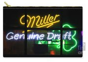 Neon Miller Beer Carry-all Pouch