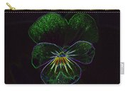 Neon Pansy Carry-all Pouch