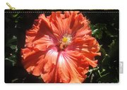 Neon-red Hibiscus 6-17 Carry-all Pouch