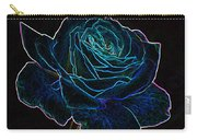 Neon Rose 3 Carry-all Pouch