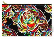 Neon Rose Carry-all Pouch