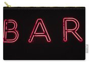 Neon Sign Carry-all Pouch