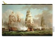 Neptune Engaging Trafalgar Carry-all Pouch by J Francis Sartorius