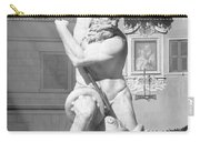 Neptune Vs Octopus - Piazza Navona In Rome Carry-all Pouch