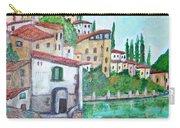 Nesso Village In Lake Como Carry-all Pouch