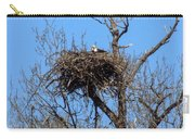 Nesting Bald Eagle Carry-all Pouch