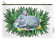 Nesting Easter Bunny Carry-all Pouch