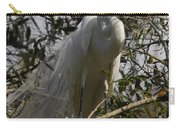Nesting Egret Carry-all Pouch