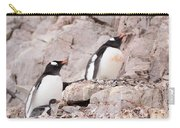 Nesting Gentoo Penguins Carry-all Pouch