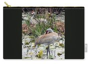 Nesting Sandhill Crane Pair Carry-all Pouch