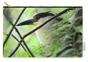 Nestled Night Heron Carry-all Pouch