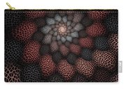 Netted Petals Carry-all Pouch