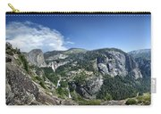 Nevada And Vernal Falls From Near Grizzly Peak - Yosemite Valley Carry-all Pouch
