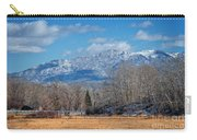 Nevada Ranch In Winter Carry-all Pouch