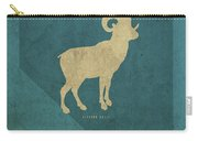 Nevada State Facts Minimalist Movie Poster Art Carry-all Pouch