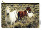 Nevada Wild Horses Carry-all Pouch by Marty Koch