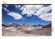 Nevado Ojos Del Salado And Laguna Negra Carry-all Pouch