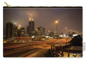 Never Sleeping Atlanta In Motion Midtown Light Trails Art Carry-all Pouch