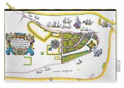 New Amsterdam Map, 1661 Carry-all Pouch