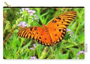 Windows From Heaven Orange Butterfly Carry-all Pouch