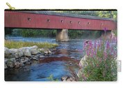 New England Covered Bridge Connecticut Carry-all Pouch
