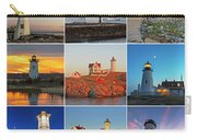 New England Lighthouse Collage Carry-all Pouch
