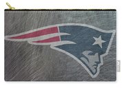 New England Patriots Translucent Steel Carry-all Pouch