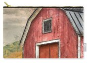 New England Red Barn Pencil Carry-all Pouch