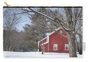 New England Red House Winter Carry-all Pouch