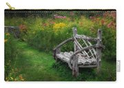 New England Summer Rustic Carry-all Pouch