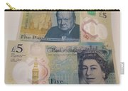 New Five Pound Notes Carry-all Pouch