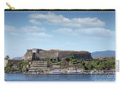 new fortress and port Corfu town Greece Carry-all Pouch