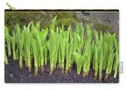 New Green Spring Shoots Carry-all Pouch