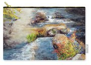 New Hampshire Creek In Fall Carry-all Pouch
