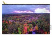 New Hampshire Fall Sunset Over Pond Carry-all Pouch