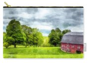 New Hampshire Landscape Red Barn Etna Carry-all Pouch